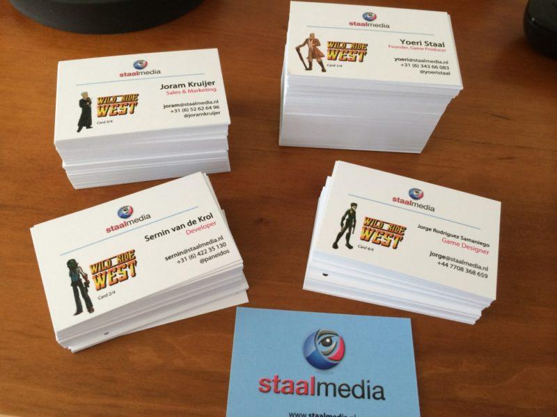 StaalMedia: Wild Ride West business cards   StaalMedia